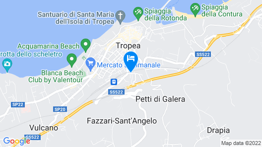Hotel Tropis Map