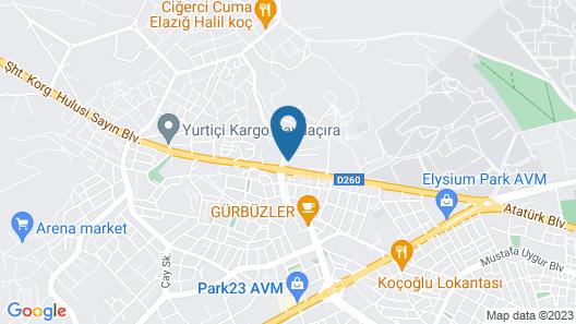 Akgun Elazig Hotel Map