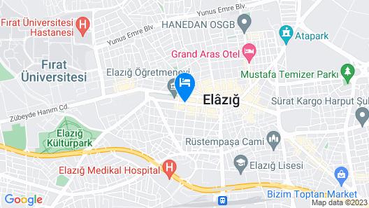 DoubleTree By Hilton Elazig Map
