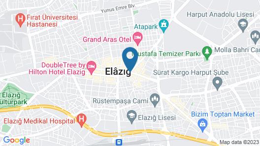 Akar Hotel Map