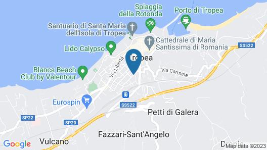 Hotel Virgilio Map