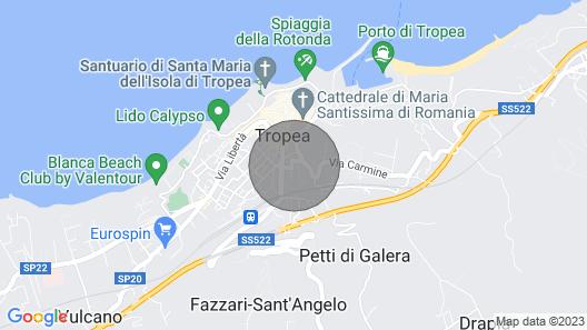 Appartamento in Centro a Tropea Map