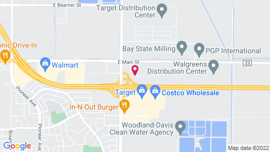 Holiday Inn Express Sacramento Airport Woodland, an IHG Hotel Map