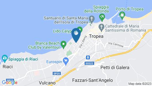 Hotel Rocca della Sena Map