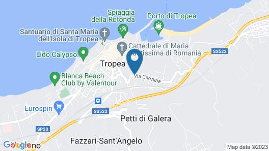 Cooee Michelizia Tropea Resort Map