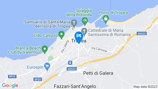 Hotel Villa Antica Map