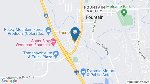 Ute Motel Map
