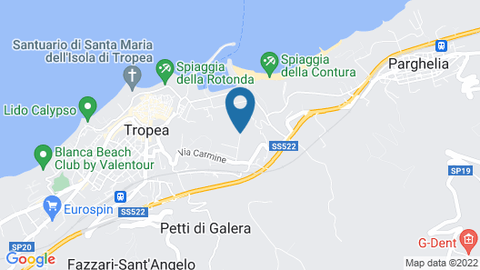 Villa Paola Map