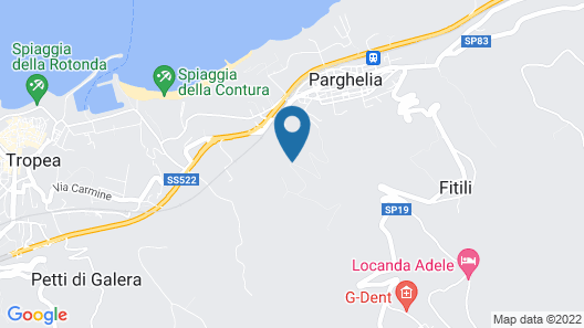 Cosy Holiday Home in Parghelia With Terrace Map