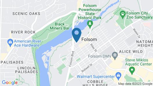Lake Natoma Inn Map