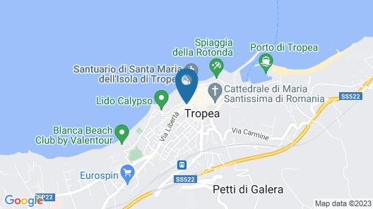 Le Tolde del Corallone Map