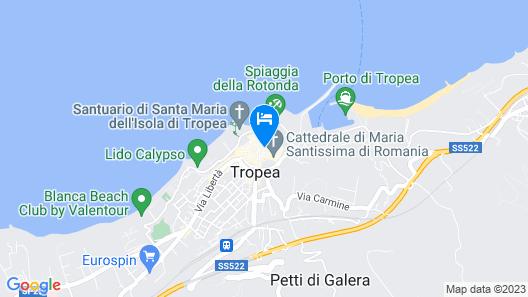 Residenza Amante Map
