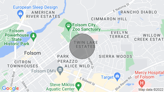 Manhattan Suite of Folsom Map