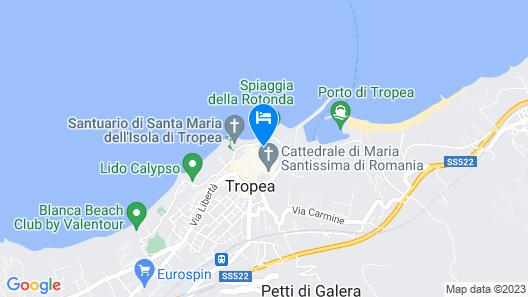 Palazzo Mottola Tropea Map