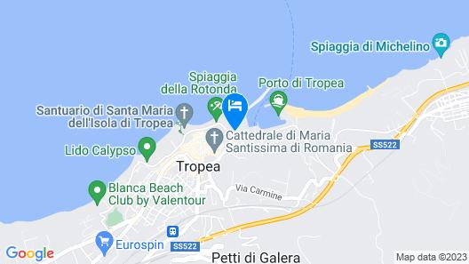 Le Roccette San Leonardo Map