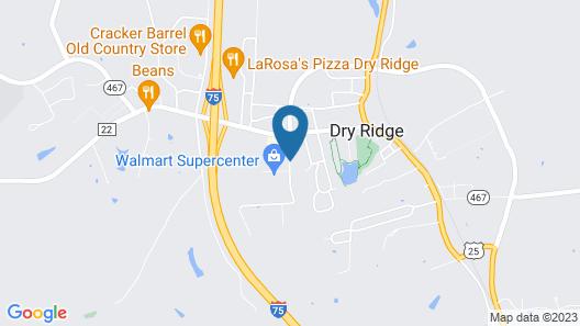 Comfort Suites Map
