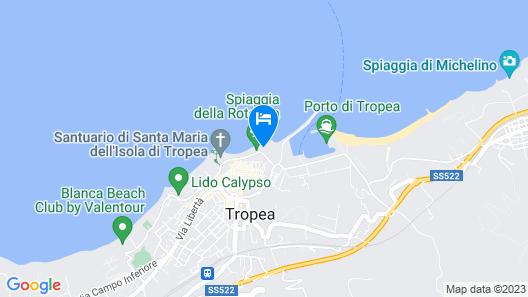Le Roccette Club Map