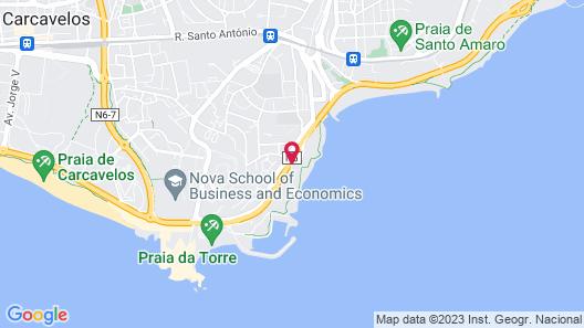 INATEL Oeiras Map