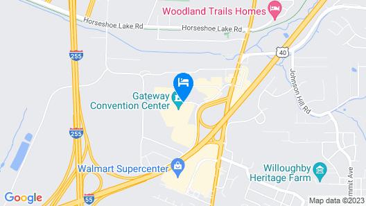La Quinta Inn & Suites by Wyndham Collinsville - St. Louis Map