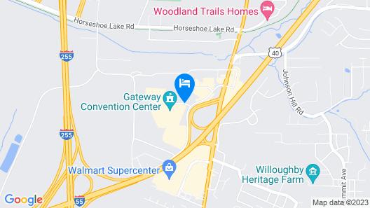 Fairfield Inn by Marriott St. Louis Collinsville, IL Map