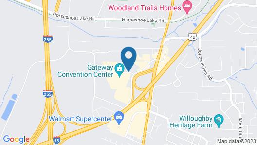 Super 8 by Wyndham Collinsville St. Louis Map