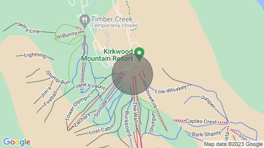 Mountain Club 318 Studio Loft Map