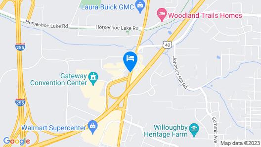 Drury Inn & Suites St. Louis Collinsville Map