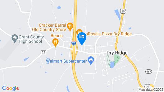 Microtel Inn by Wyndham Dry Ridge Map