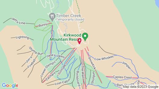 Kirkwood Resort Map