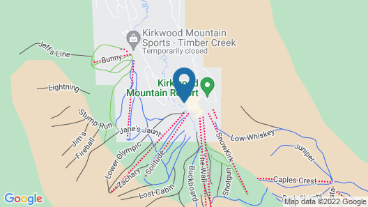 Sun Meadows Condo at Kirkwood 1 bdm Map