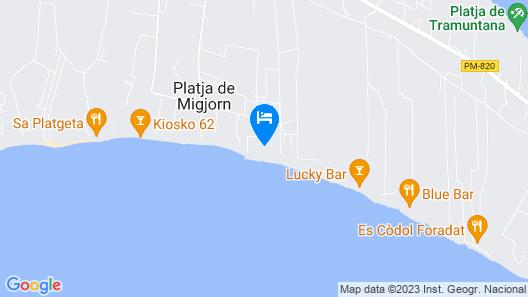 Insotel Hotel Formentera Playa Map