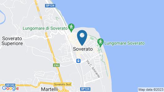 Casa Di Lara Map