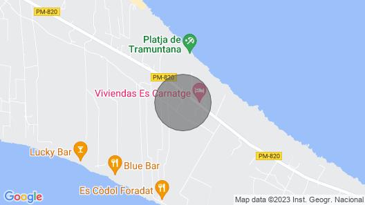 Vivienda Los Olivos 2 - Formentera Break Map