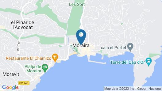 Book It Toscamar Apartment Moraira 1 Map