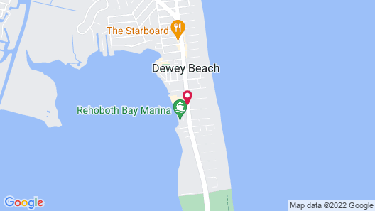 Hyatt Place Dewey Beach Map