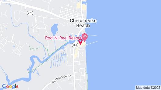 Rod 'N' Reel Resort Map
