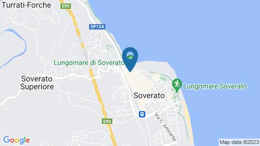 Xenia B&B Casa Vacanze Soverato Map