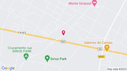 Monte Girassol - The Lisbon Country House! Map
