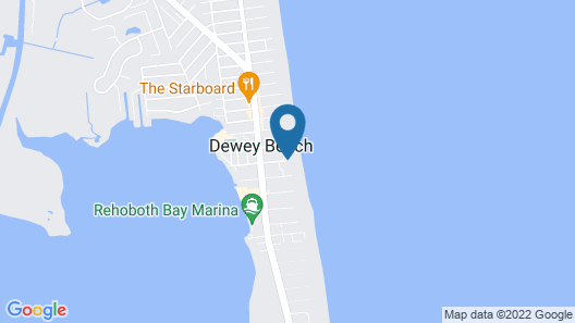 Surf Club Oceanfront Hotel Map