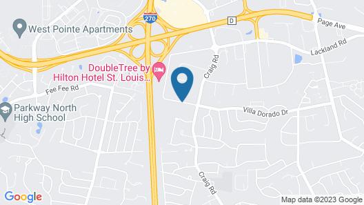 Sonesta ES Suites St. Louis Westport Map