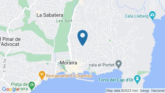 Hotel Los Limoneros Map