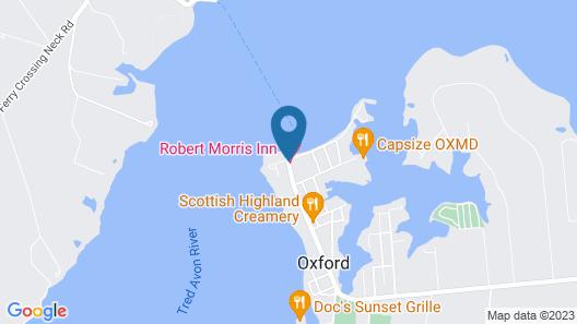 Robert Morris Inn Map