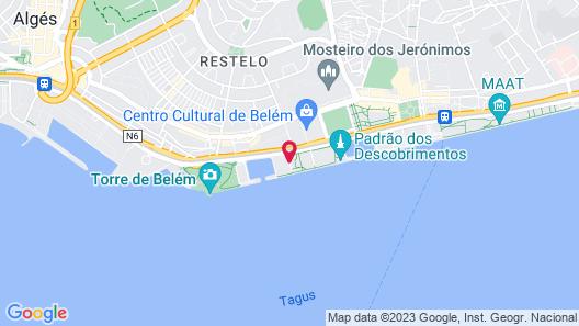 Altis Belém Hotel & Spa Map