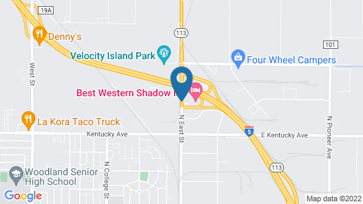 Best Western Shadow Inn Map