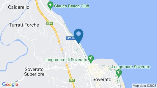 San Domenico Hotel Map