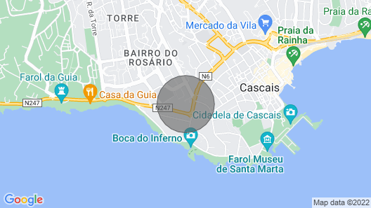 Calhaus I House in Cascais Map