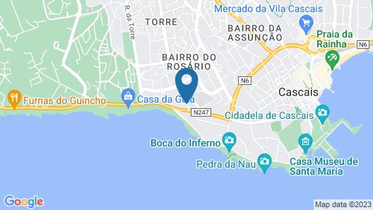 Eurostars Cascais Map