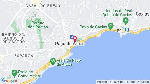 Vila Gale Collection Palacio dos Arcos Map