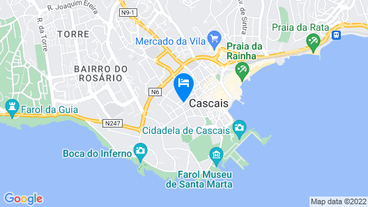Excellent and Cosy Apartment at Cascais Historical Centre Map