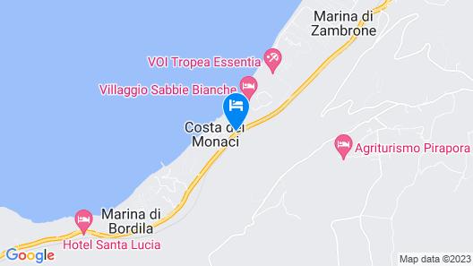 Villaggio Sabbie Bianche Map